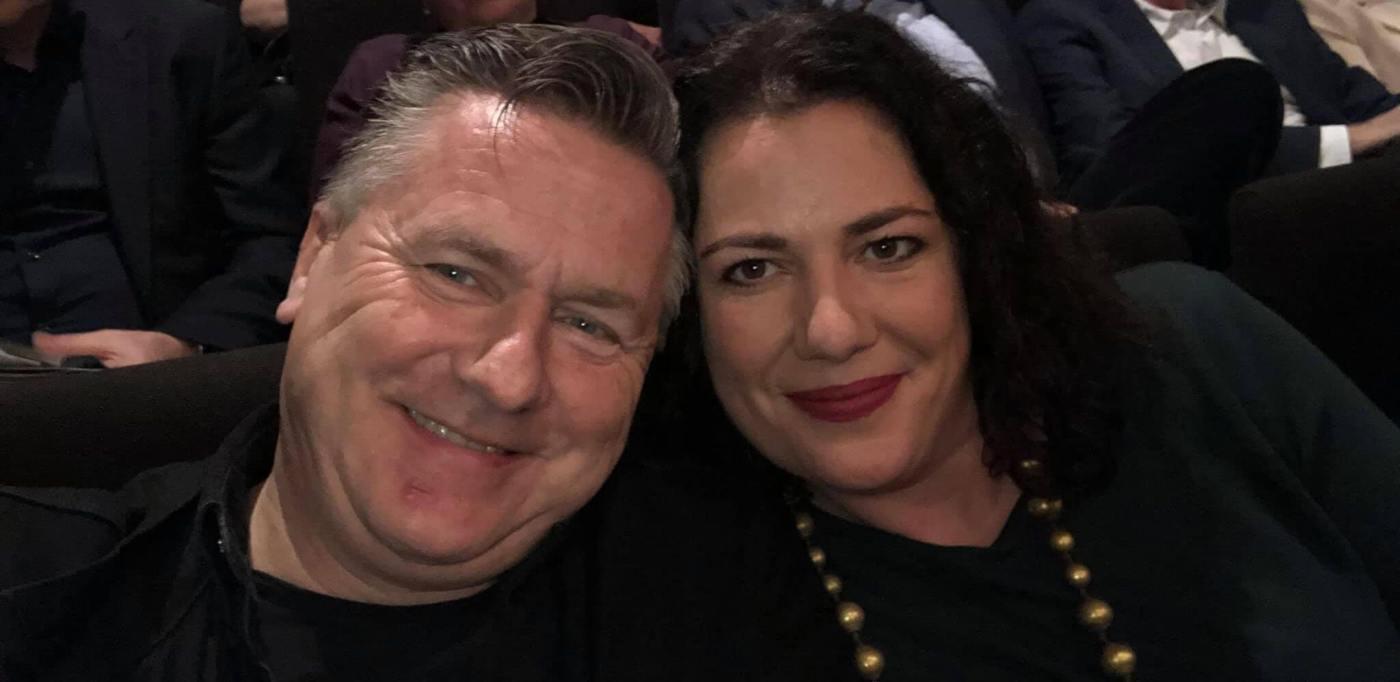 Gunnar und Miliana in der Bonner Oper