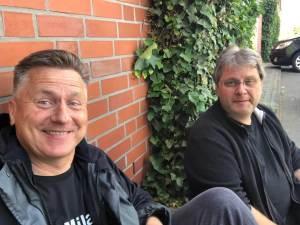 Gunnar und Guido machen Pause