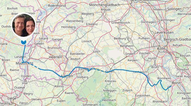 Strecke Tag 1