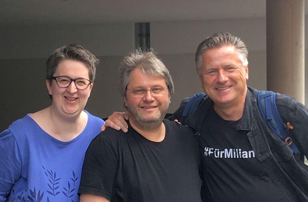 Annette, Guido und Gunnar