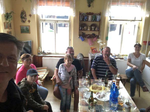 Gunnar und Familie Frantisek