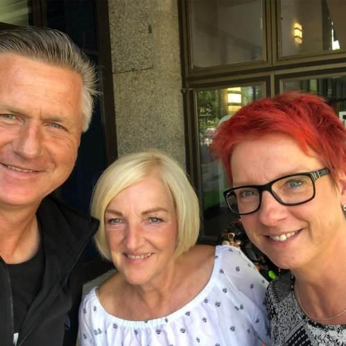 Gunnar mit Claudia und Simone