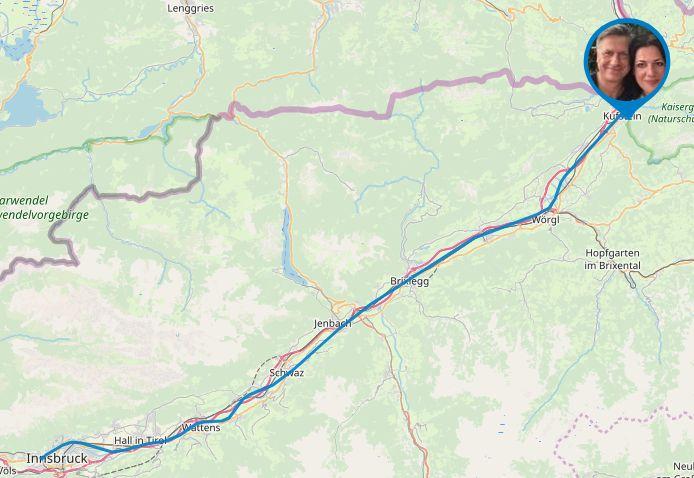 Strecke Tag 19
